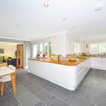 Keuken en woonkamer in dezelfde ruimte