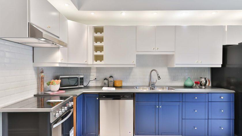 Keuken verven